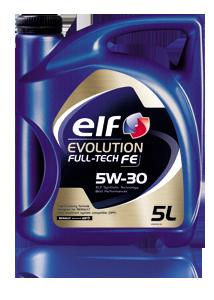 ELF EVOLUTION FULLTECH FE  5w30 5л