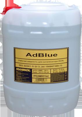 MANNOL  Ad BLUE 20л добавка в диз.пальне