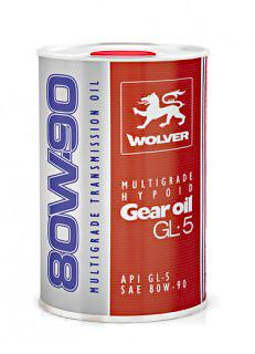 WOLVER Multigrade Hypoid Gear Oil 80W90 GL 5 20 л
