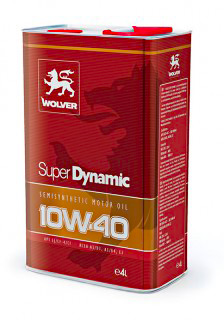 WOLVER Super Dinamic 10W40 4л