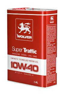 WOLVER Super TRAFFIC  10W40 1л