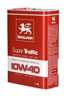 WOLVER Super TRAFFIC  10W40 4л