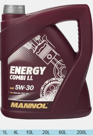 MANNOL ENERGI COMBI LL 5w30 4л.
