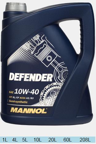MANNOL STAHLSYNT DEFENDER 10w40 1л.