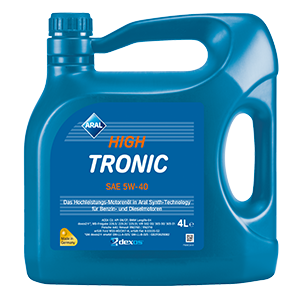 ARAL High Tronic 5W40 4л