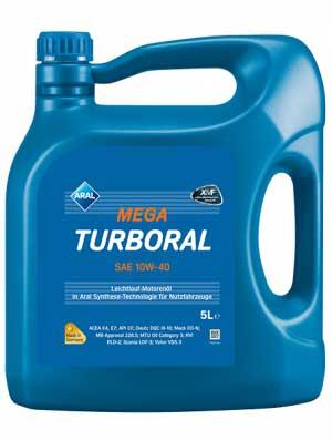 ARAL Mega Turboral 10W40 5л
