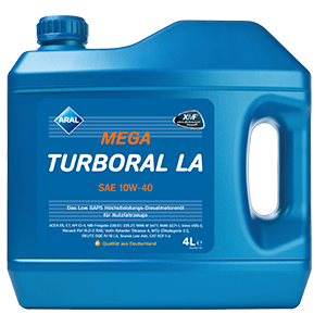 ARAL Mega Turboral LA 10W40 4л.