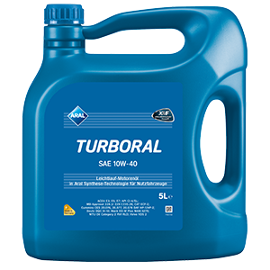 ARAL Turboral 10W40 5л.