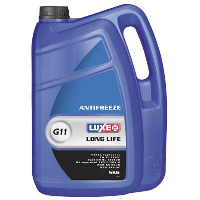 LUXE ANTIFREEZE-40 Long Life (синій ) 5кг
