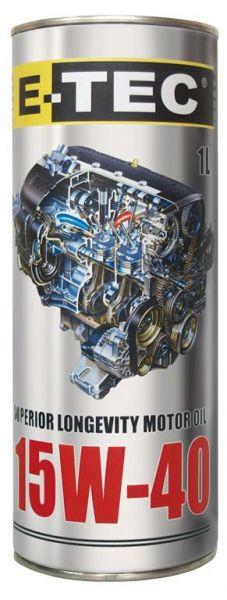 E-TEC  STD 15W40  кан. мет. 1л.