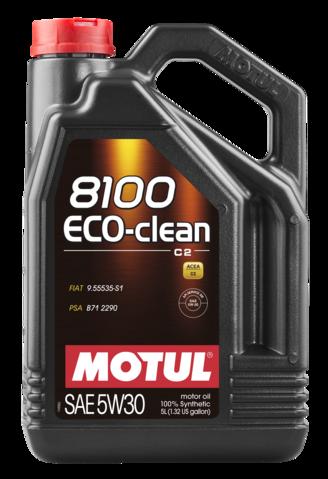 841551 MOTUL  8100 Eco-clean 5W 30 5л.