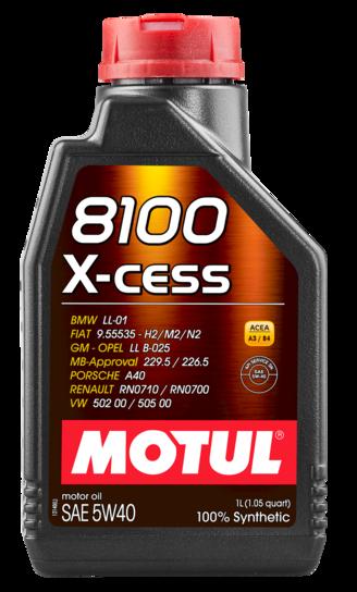 368201 MOTUL  8100 X-cess 5W40 1л./GEN 2