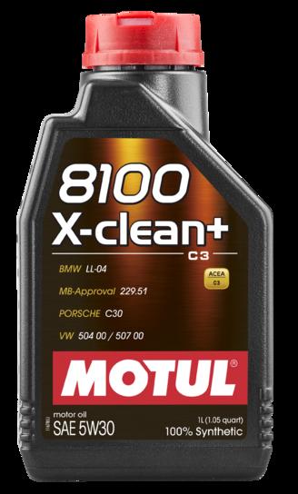 MOTUL  8100 X-clean +5W30 1л.