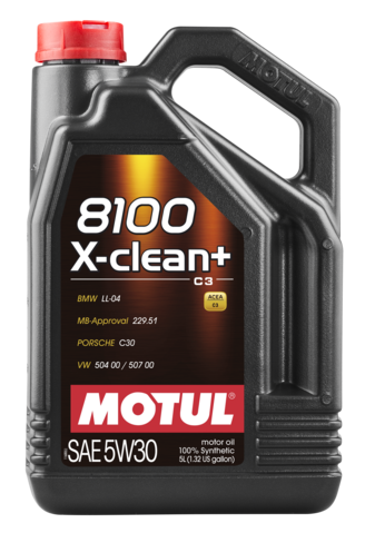 854751 MOTUL  8100 X-clean +5W30 5л.