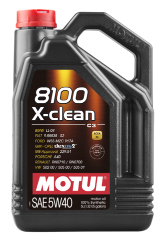 MOTUL  8100 X-clean 5W40 5л. GEN2