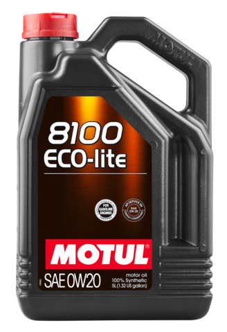 MOTUL  ECO-LITE 0W20 5л