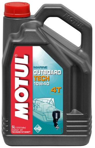 MOTUL  Outboard Tech 4T 10W40 1л.