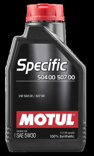MOTUL  Specific  504 00 507 00 5W30 1л