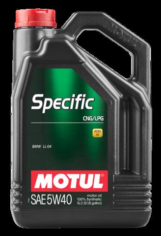 MOTUL  SPECIFIC CNG/LPG   5W40 5л.
