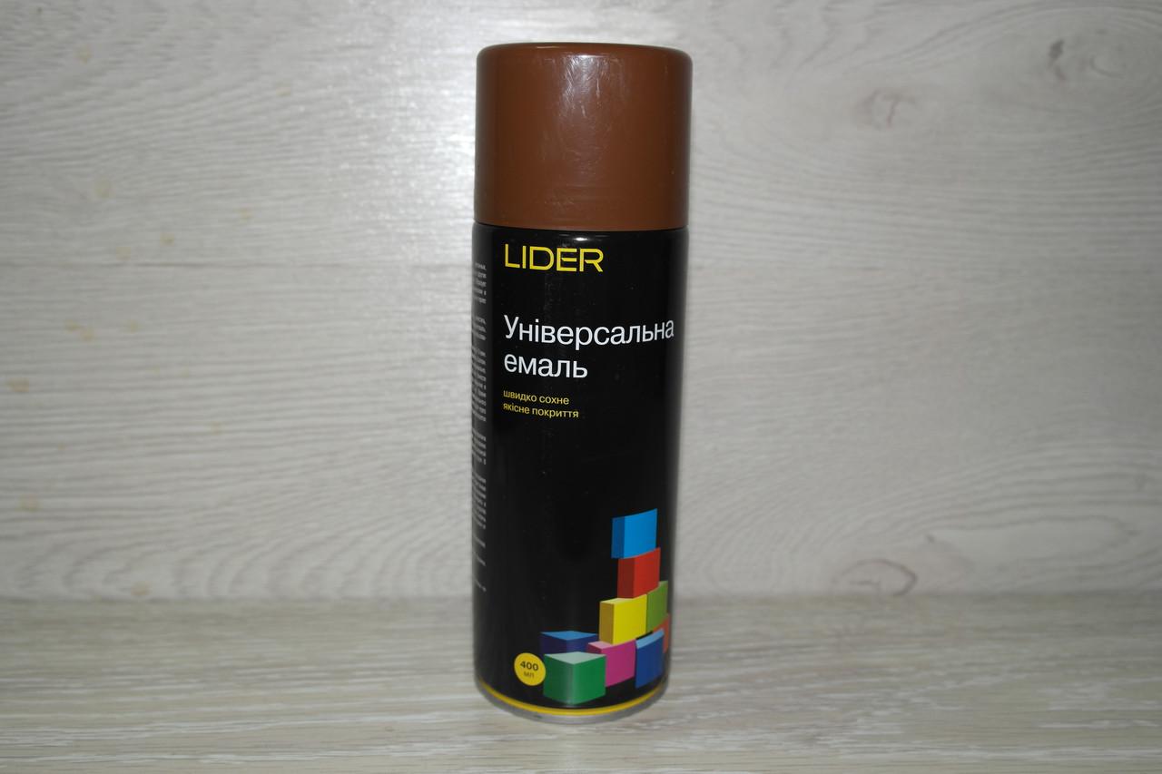 LIDER Фарба 8011 коричнева 400 мл.