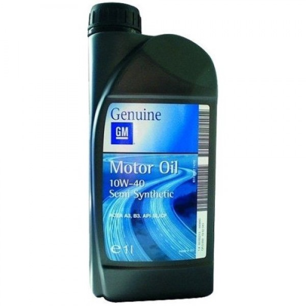 "93165213 GM ""Semi Synthetic 10W-40"" 1л"