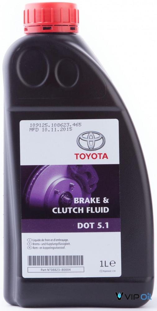 "0882380004 Toyota ""Brake & Clutch Fluid"" 1л. Рідина гальмівна DOT5.1"