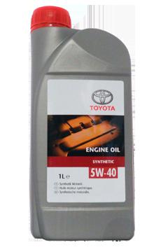 "0888080836 Toyota ""Engine Oil 5W40"" 1л. Олива синтетична"