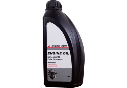 """MZ320361 Mitsubishi """"Engine Oil 5W40"""" 1л. Олива синтетична"""