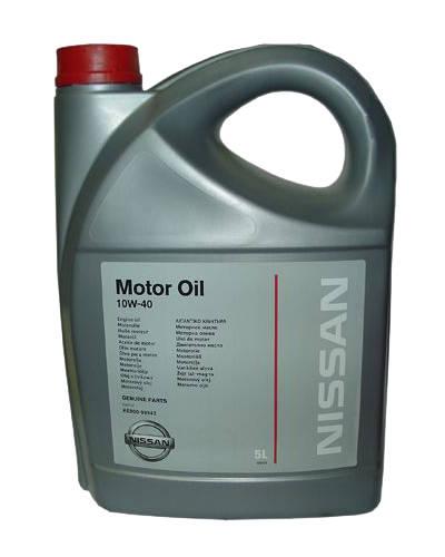 "KE 90099942  Nissan ""Motor oil 10W40"", 5л. Олива напівсинтетична"