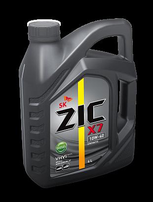 ZIC  X7 10w40 Diesel 4 л.