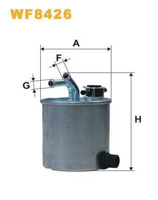 WIX Фільтр паливний WF 8426