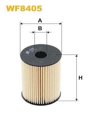 WIX Фільтр паливний WF 8405