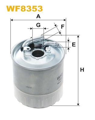 WIX Фільтр паливний WF 8353
