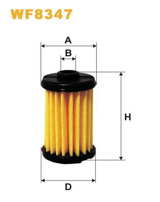 WIX Фільтр паливний WF 8347 LPG