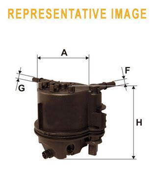 WIX Фільтр паливний WF 8322