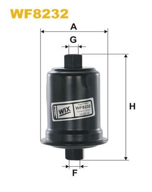 WIX Фільтр паливний WF 8232