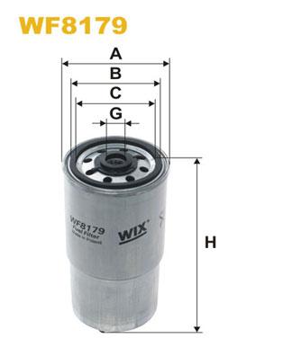 WIX Фільтр паливний WF 8179
