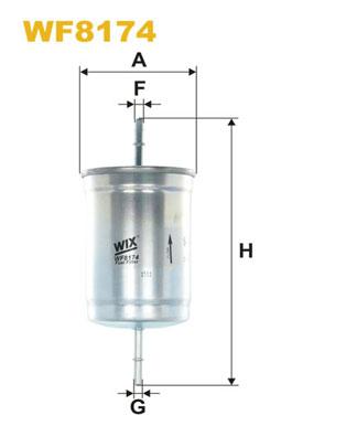 WIX Фільтр паливний WF 8174
