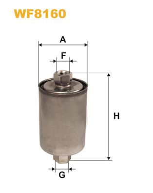 WIX Фільтр паливний WF 8160