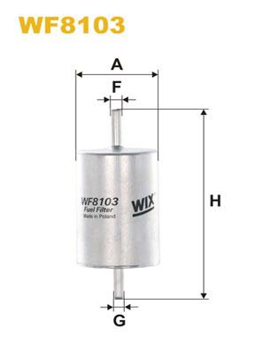 WIX Фільтр паливний WF 8103
