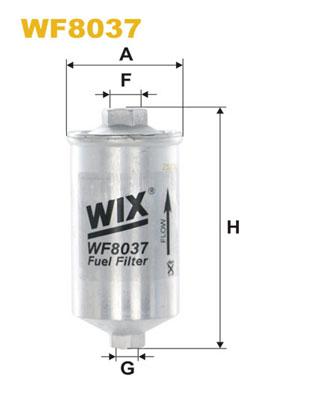 WIX Фільтр паливний WF 8037