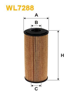WIX Фільтр масляний WL 7288