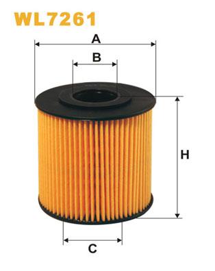 WIX Фільтр масляний WL 7261