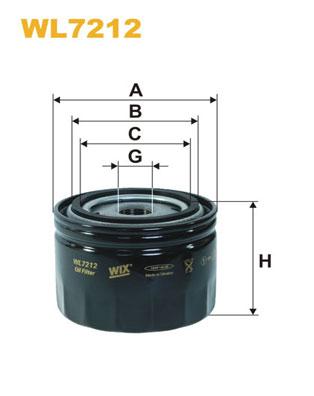 WIX Фільтр масляний WL 7212