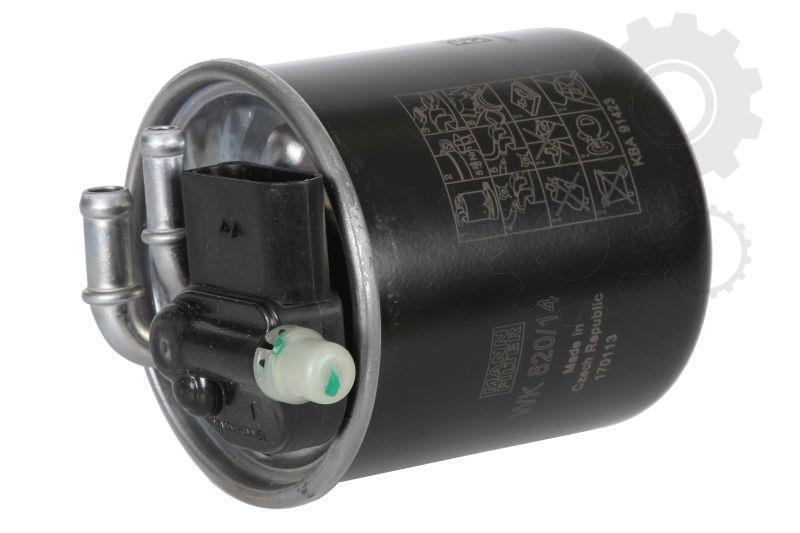 MANN Фільтр паливний WK 820/14= WK820/15=WK820/7