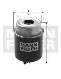 MANN Фільтр паливний WK 8132