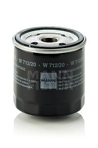 MANN Фільтр масляний W 712/20