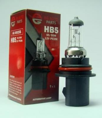 AG Автомобільна лампа  AG 40025S  НB5 12V 65/55W PX29T STD
