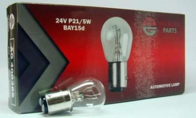 AG Автомобільна лампа  AG 40038S   24V 21/5W P21/5W BAY15D