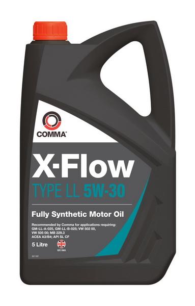 COMMA  X-FLOWLL 5W30 SYNT 5л.